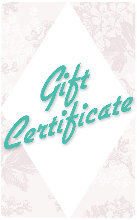 Retro Glam Gift Card