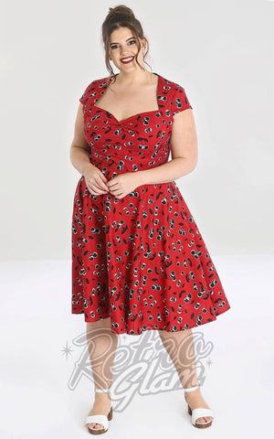 Hell Bunny Alison 50's Dress curvy
