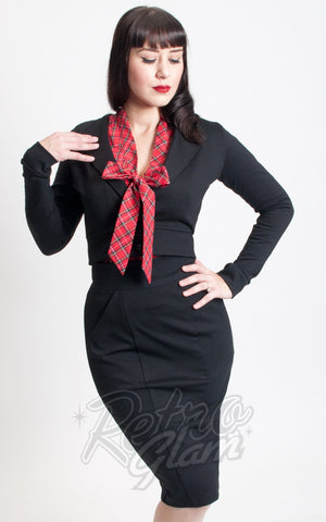 Heart of Haute Dapper Blazer in Black