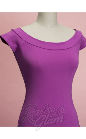 Heart of Haute Marilyn Top in Orchid