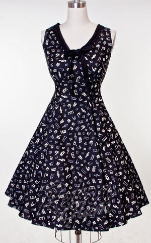 Heart of Haute Hillary Dress in Music Notes