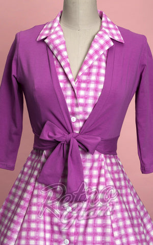 Heart of Haute Mandi Bee Sweet Sweater in Orchid front
