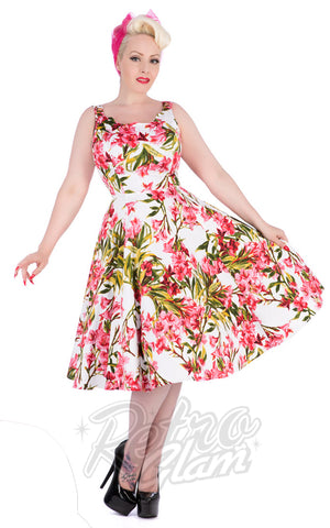 Hearts and Roses Chrystia Floral Swing Dress