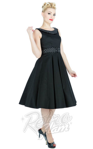Hearts and Roses Rockabilly Recital Evening Dress