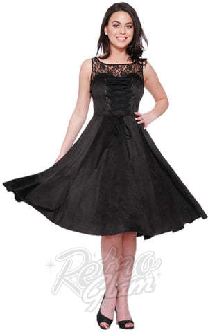 Hearts and Roses Gallerina Lace Up Dress