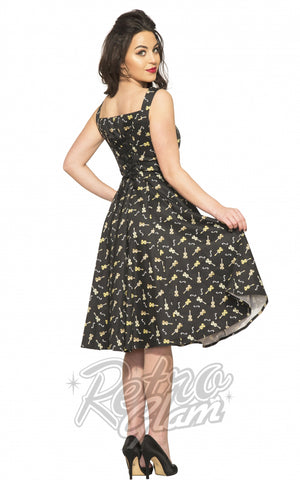 Hearts and Roses Violin Vixen Dress