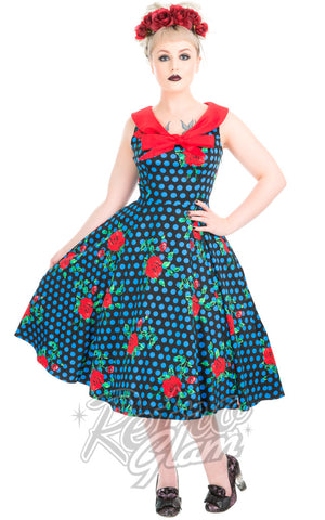 Hearts and Roses Rose Marie Day Dress