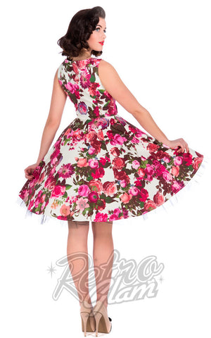 Hearts and Roses Georgia Swing Dress