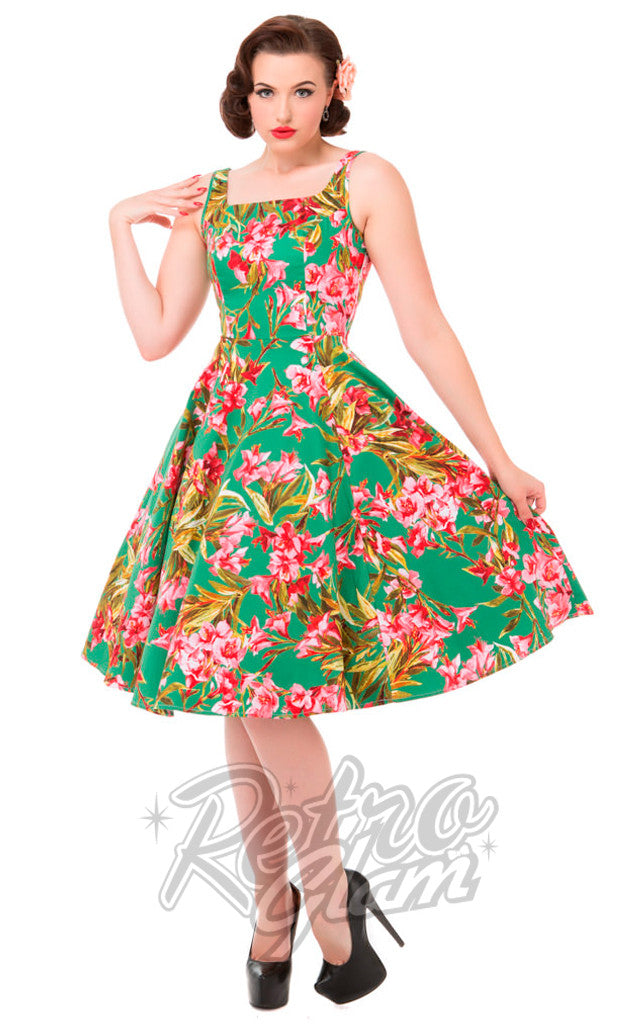 Hearts and Roses Maureen Swing Dress