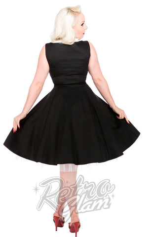 Hearts and Roses Scallop Party Dress