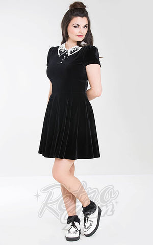 3223fb8b5e Hell Bunny Graveyard Mini Dress ...