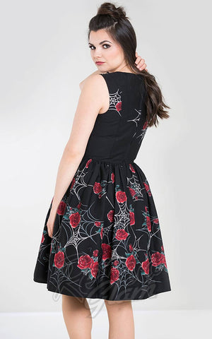 Hell Bunny Sabrina Dress back