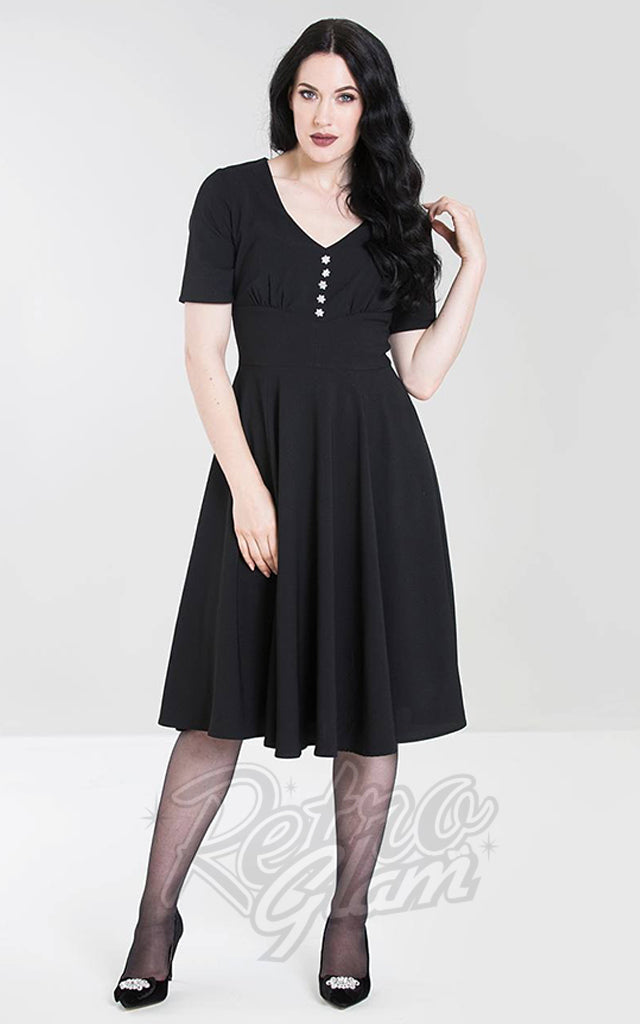 Hell Bunny Mila Dress in Black