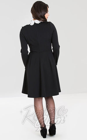 Hell Bunny Ricci Dress back
