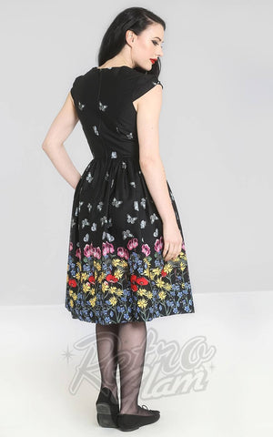 Hell Bunny Meadow 50's  Dress back
