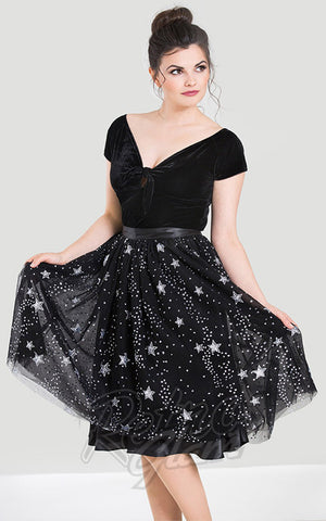 Hell Bunny Cosmic Love Skirt