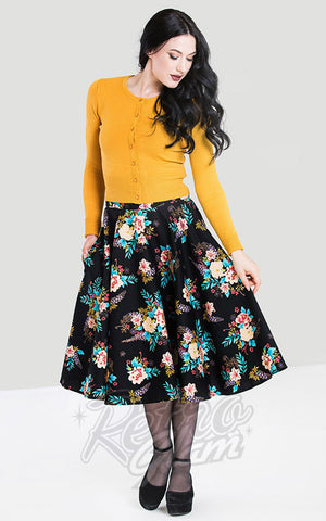 Hell Bunny Bluebell 50's Skirt