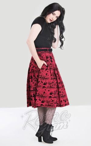 f31056b7e Vixen by Micheline Pitt Ben Cooper Swing Skirt in Vintage Haunted ...