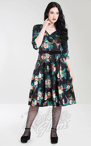 Hell Bunny Bluebell 50's Dress