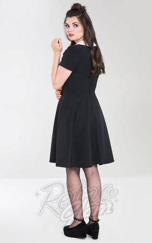 Hell Bunny Bow Dress back