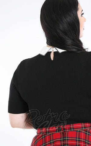 Hell Bunny Bow Top curvy back