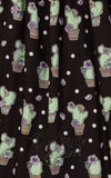 Hell Bunny Cactus 50's Skirt fabric