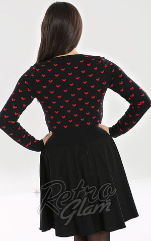 Hell Bunny Corazon Cardigan back