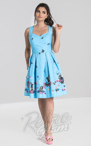 Hell Bunny Cotton Tail Mid Dress