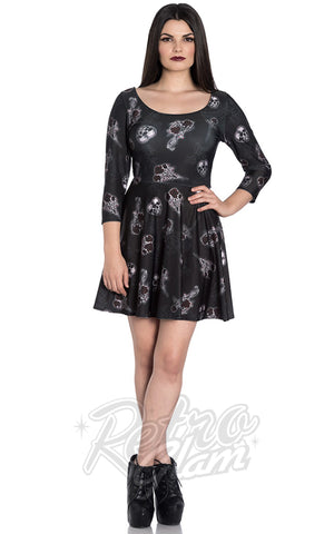 Hell Bunny Dark Valentine Dress