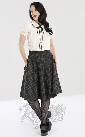 Hell Bunny Plaid Euphoria Skirt