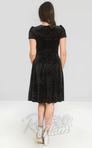 Hell Bunny Glitterbelle Dress back