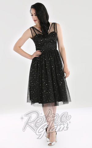 Hell Bunny Infinity 50's Dress stars