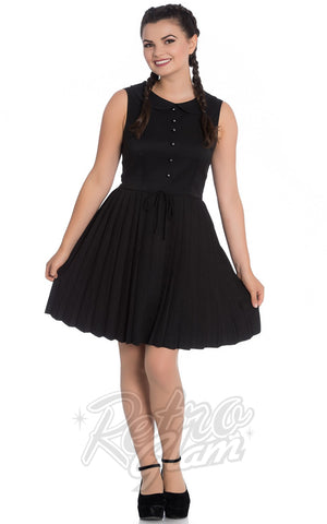 Hell Bunny Josephine Dress in Black