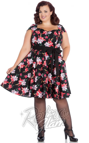 Hell Bunny Lilliana Dress Curvy