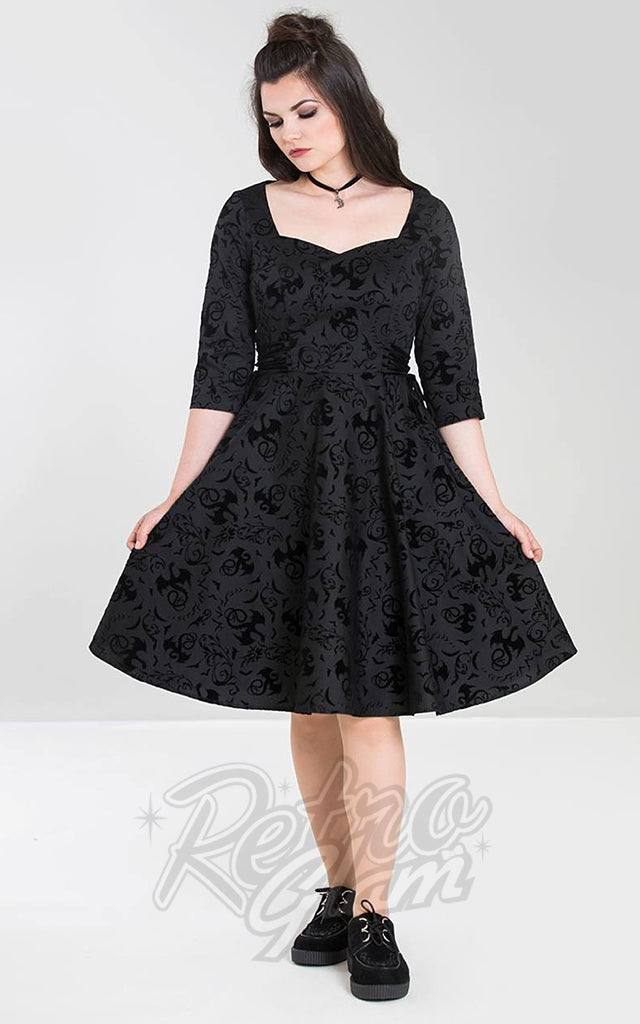 Hell Bunny Maleficent Dress