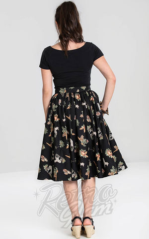 Hell Bunny Messina 50's Skirt back