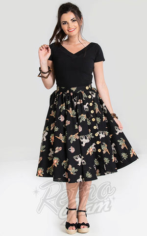 Hell Bunny Messina 50's Skirt