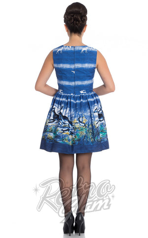 Hell Bunny Montana Mini Dress Novelty