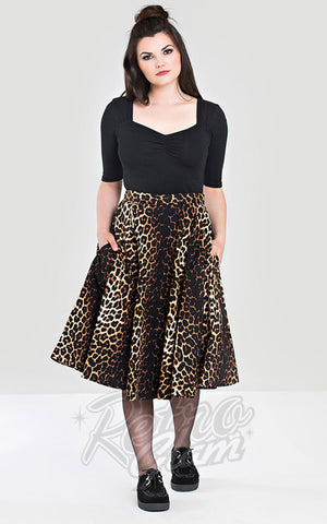 Hell Bunny Panthera 50's Skirt
