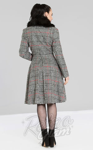 Hell Bunny Pascale Coat back
