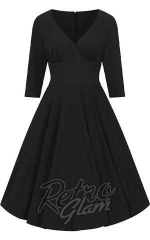 Hell Bunny Patricia 50's Dress in Black