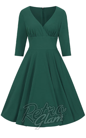 Hell Bunny Patricia 50's Dress in Green