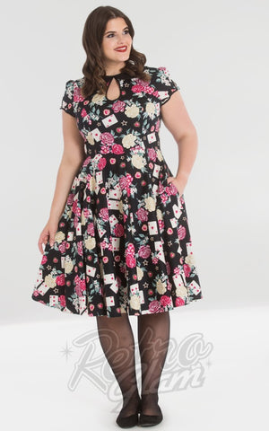 Hell Bunny Queen of Hearts 50s Dress plus size