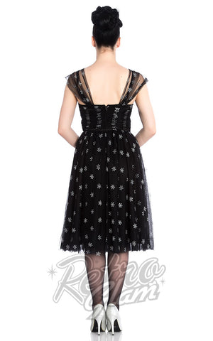 Hell Bunny Snowstar Dress back