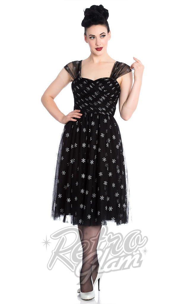 Hell Bunny Snowstar Dress