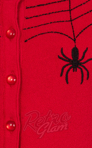 Spider embroidery