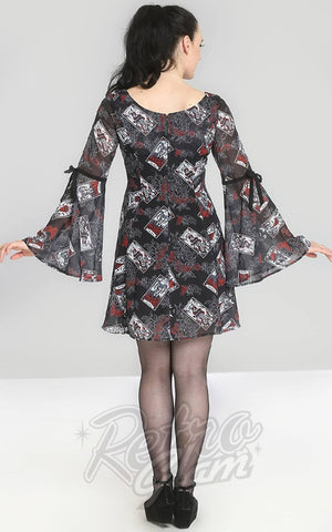 Hell Bunny Tarot Mini Dress back