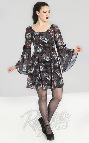 Hell Bunny Tarot Mini Dress