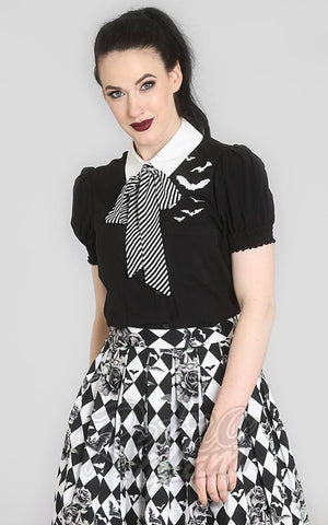 Hell Bunny Trixie Blouse