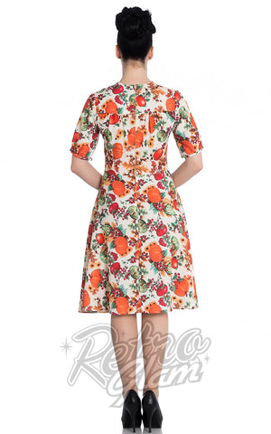 Hell Bunny Harvest Dress back